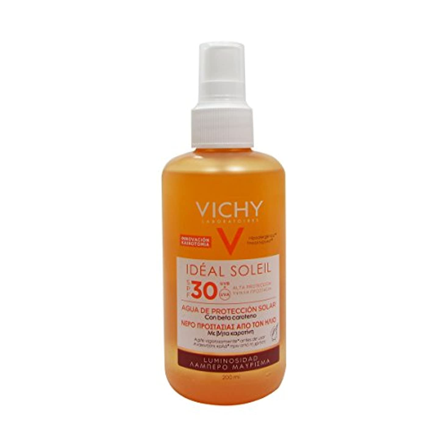 仲間、同僚傀儡やさしくVichy Ideal Soleil Fresh Water Sun Protection Spf30 Luminous Tan 200ml [並行輸入品]