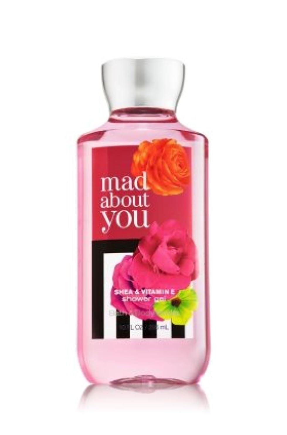 電子レンジさわやかボーカル【Bath&Body Works/バス&ボディワークス】 シャワージェル マッドアバウトユー Shower Gel Mad About You 10 fl oz / 295 mL [並行輸入品]