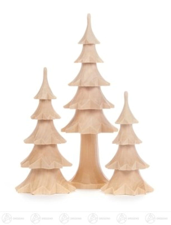 トランク、およそ 18 の cm の鉱石山の木製の木のクリスマスツリーの上昇の未塗装の高さの有無にかかわらず切り分けられる中央山塊の木製の木