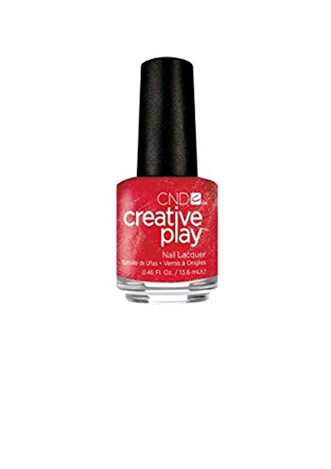 金銭的コイン禁止するCND Creative Play Lacquer - Persimmon-ality - 0.46oz / 13.6ml