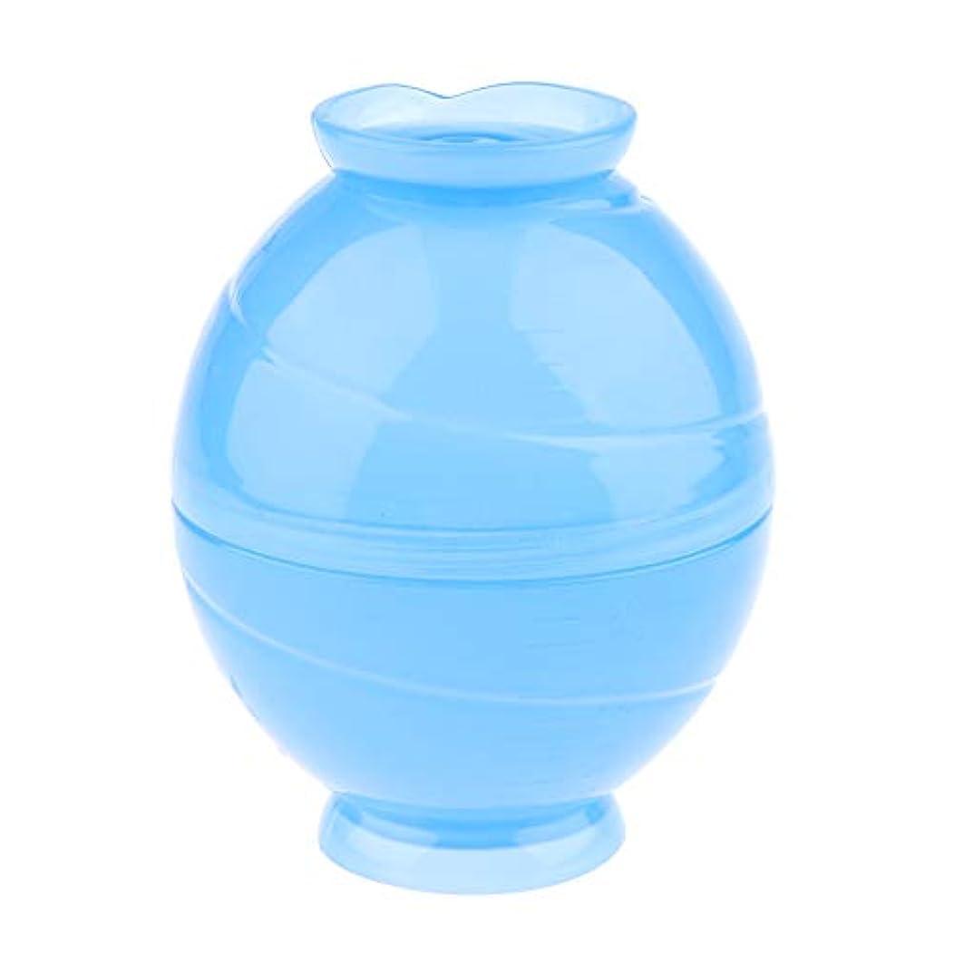SM SunniMix 全3色 サロンボウル ヘアカラー用 ミキシングボトル キャンディー形状 - 青