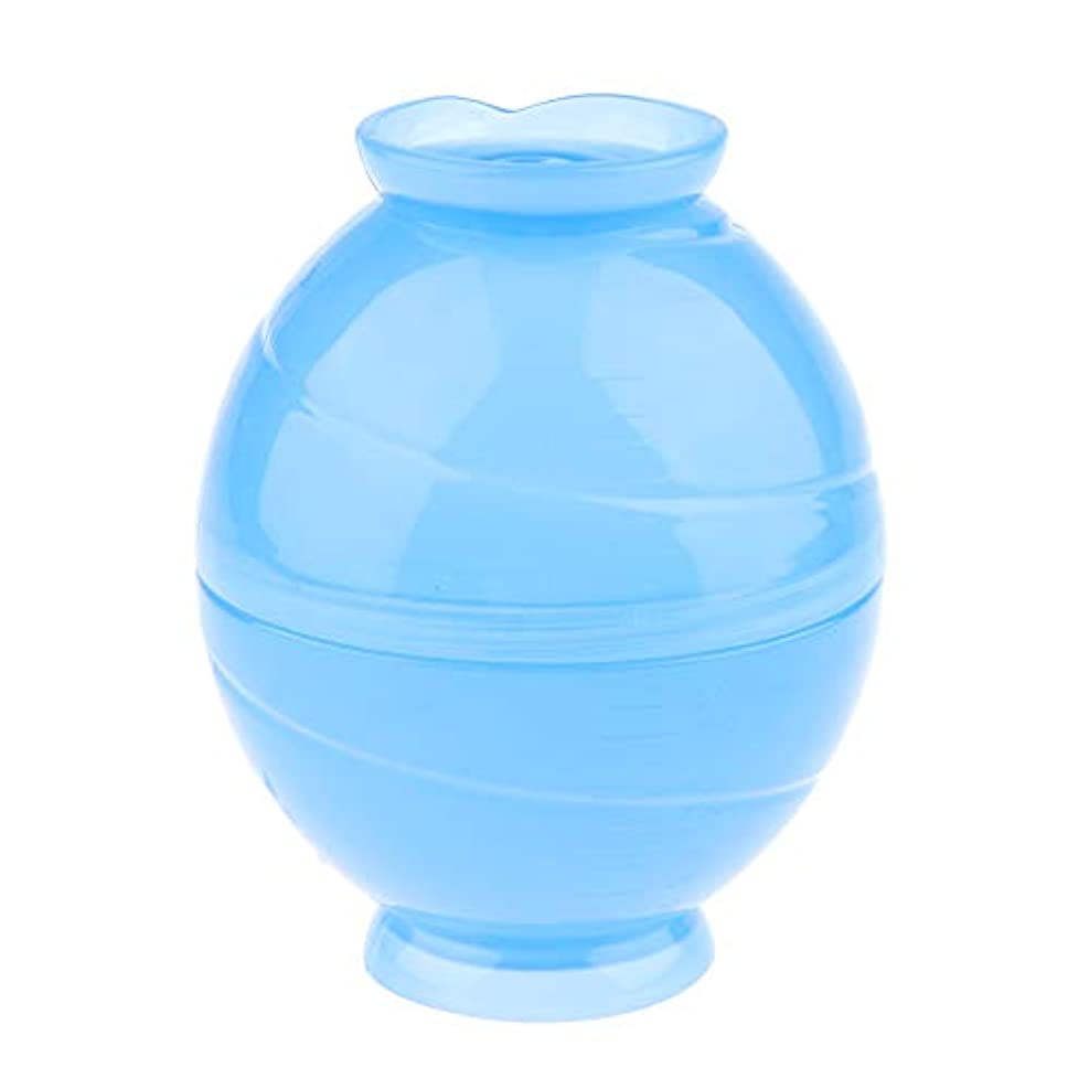グラス溶けたバイアスSM SunniMix 全3色 サロンボウル ヘアカラー用 ミキシングボトル キャンディー形状 - 青