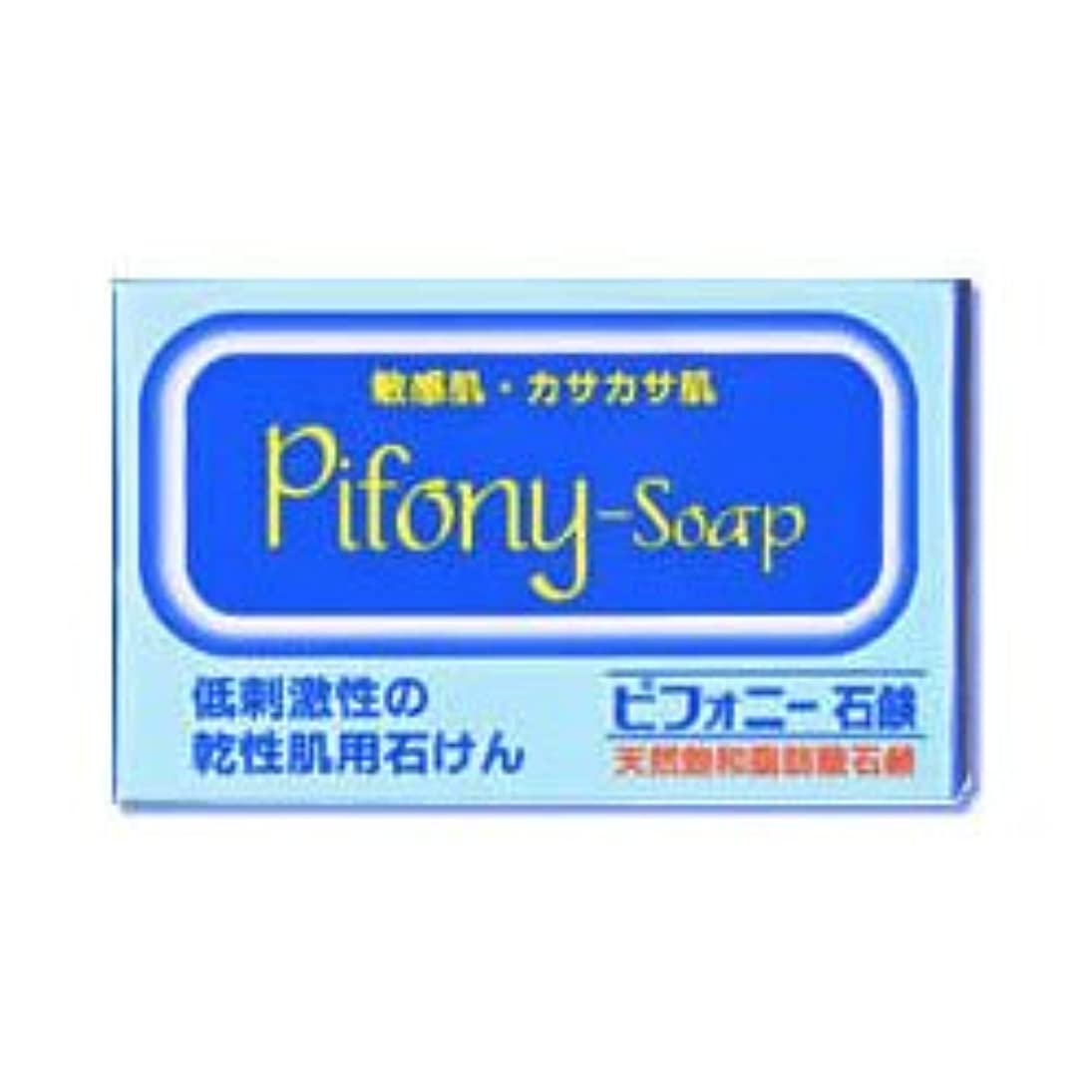 一貫性のない退屈肉【ノーエチ薬品】ピフォニー石鹸 100g ×3個セット