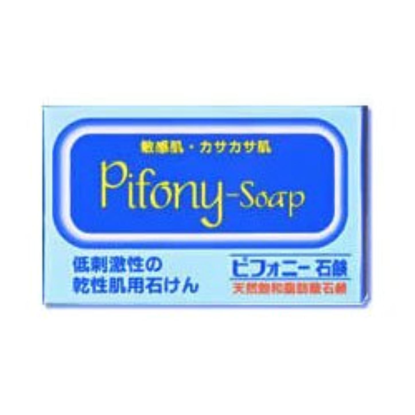 ボックスどちらか大事にする【ノーエチ薬品】ピフォニー石鹸 100g ×3個セット