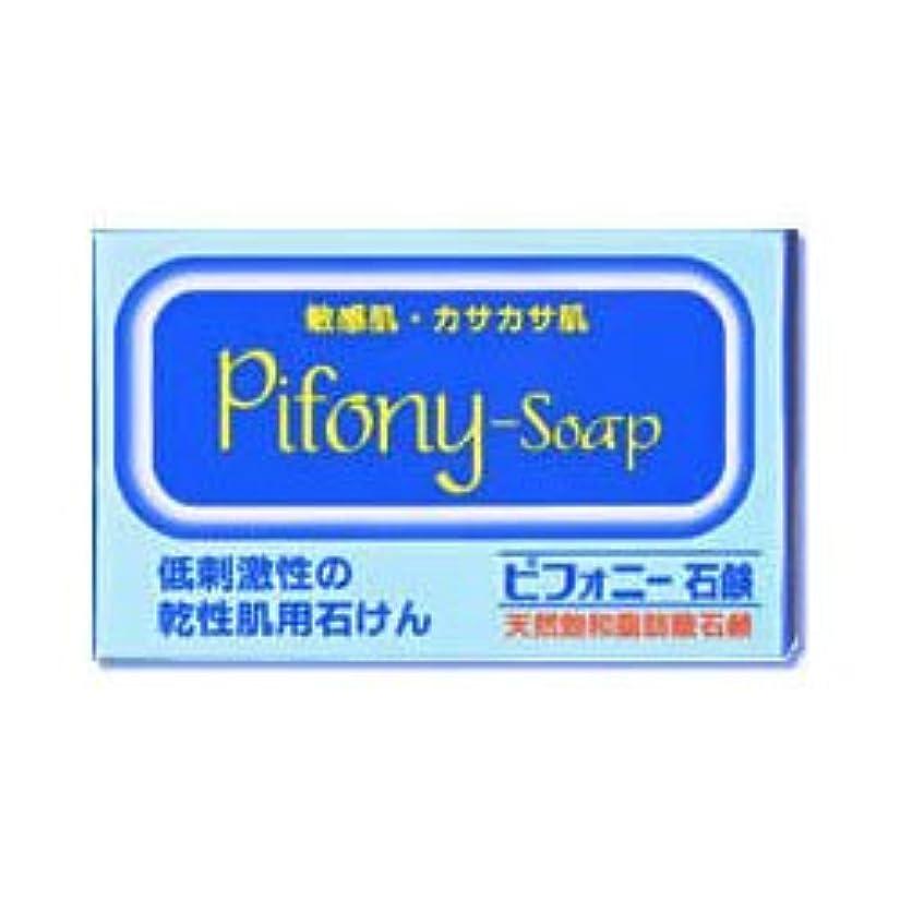 愛撫恩恵薬用【ノーエチ薬品】ピフォニー石鹸 100g ×3個セット