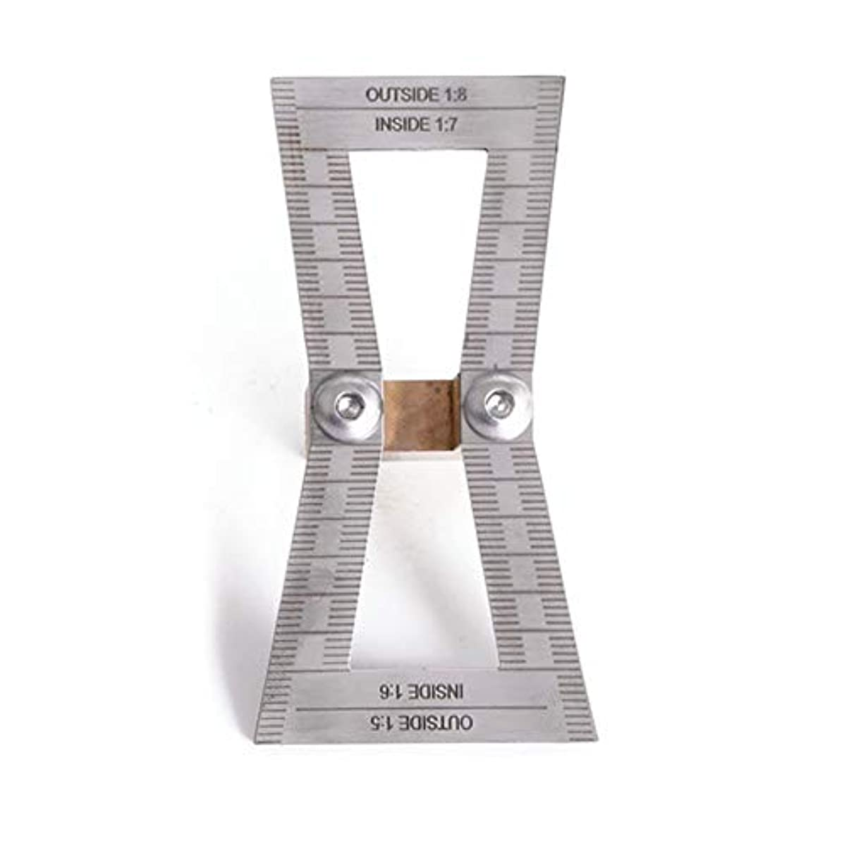 ミルク憤る原子炉Profeel ダブテールスクライブラインプランナー木工は、大工用のスケールでテンプレート図面を交差