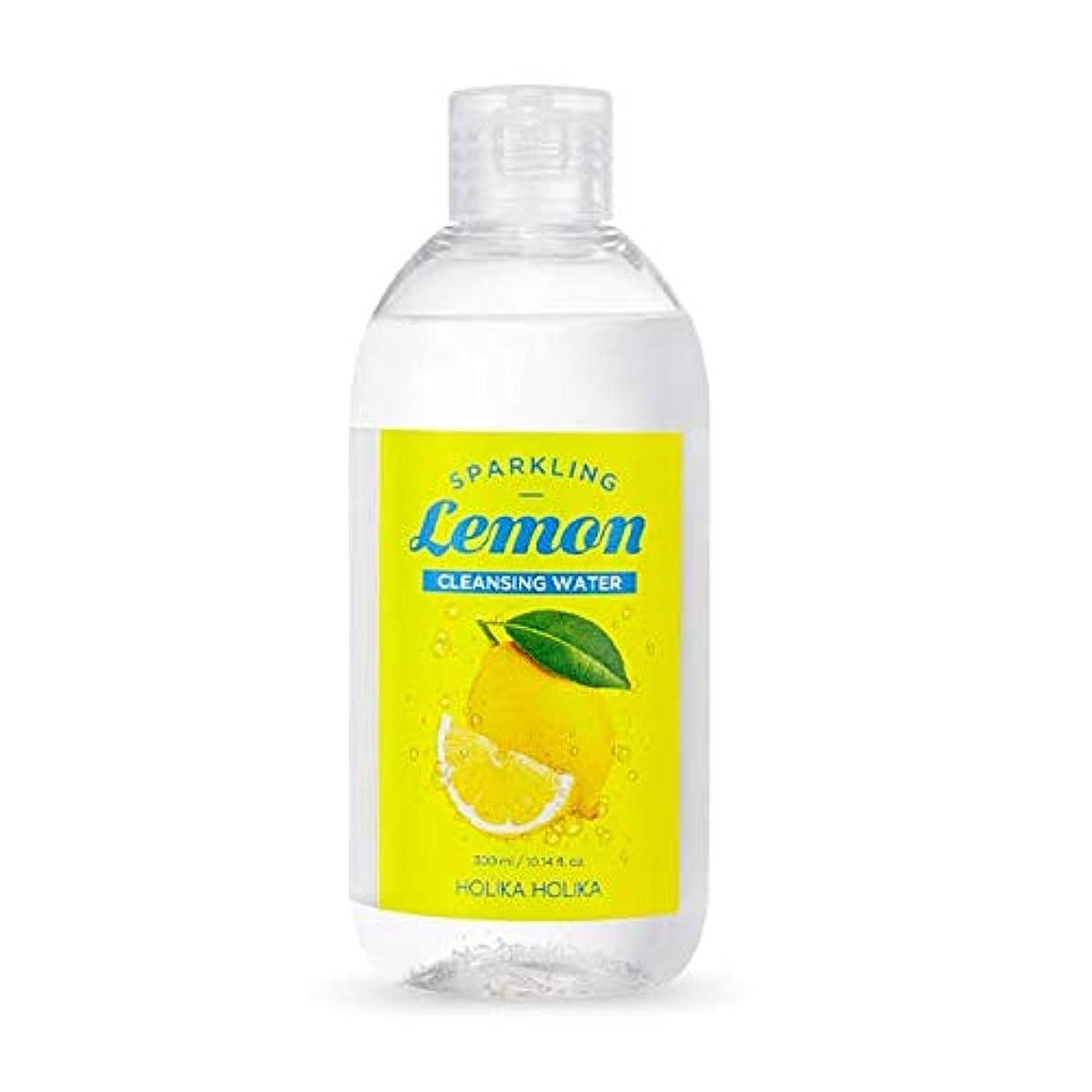 航空便過ち吸収するホリカホリカ 炭酸レモンクレンジングウォーター 300ml / Holika Holika Sparkling Lemon Cleansing Water 300ml [並行輸入品]