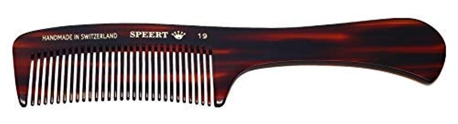 ポンドマッサージ乱れHand-made tortoise comb #19 by Speert [並行輸入品]