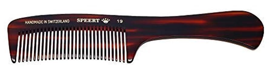放射するランドマーク部族Hand-made tortoise comb #19 by Speert [並行輸入品]