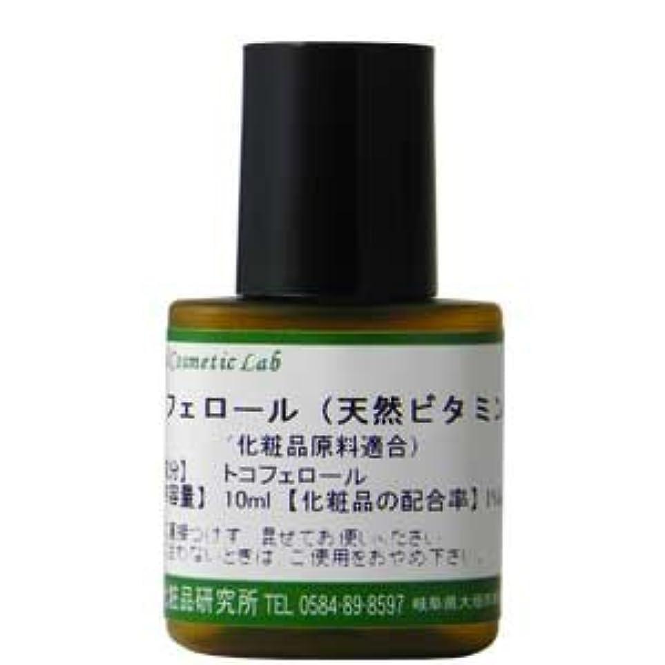 家主和解する信条トコフェロール (天然ビタミンE) 10ml 【手作り化粧品材料】