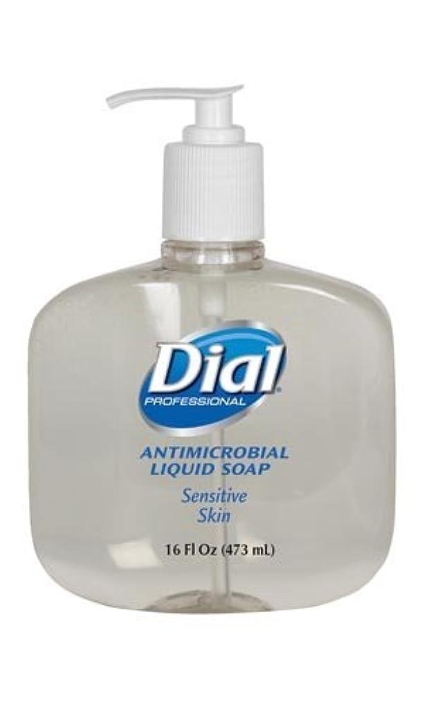 学者芝生かすかなダイヤルゴールドLiquid Soap液体石鹸、ポンプ、16オンス、12 / CS ( 2340080784 )