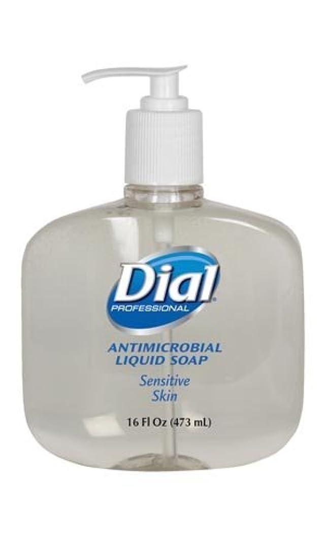 退化するぺディカブグリップダイヤルゴールドLiquid Soap液体石鹸、ポンプ、16オンス、12 / CS ( 2340080784 )