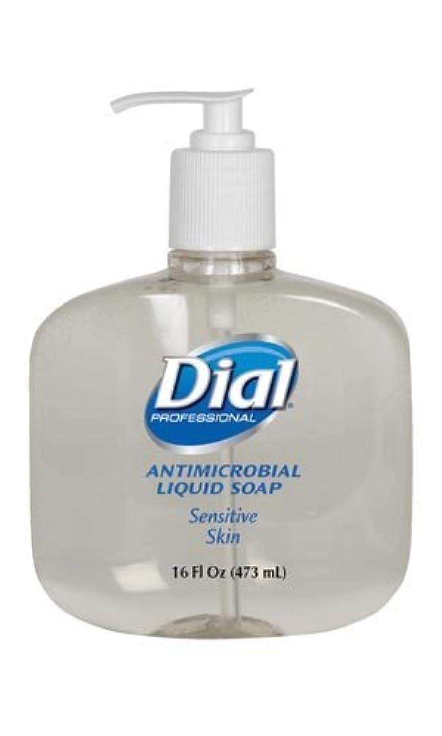しつけ業界バケットダイヤルゴールドLiquid Soap液体石鹸、ポンプ、16オンス、12 / CS ( 2340080784 )