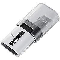 エレコム ワイヤレスマウス Bluetooth モバイル CAPCLIP 3ボタン IRLED搭載 充電式 ホワイト M-CC1BRWH