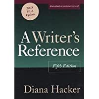 A Writer's Reference - Fifth Edition 2003 Mla Update