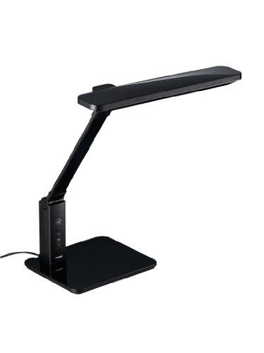 TWINBIRD LEDデスクライト(AA型相当) ブラック LE-H616B