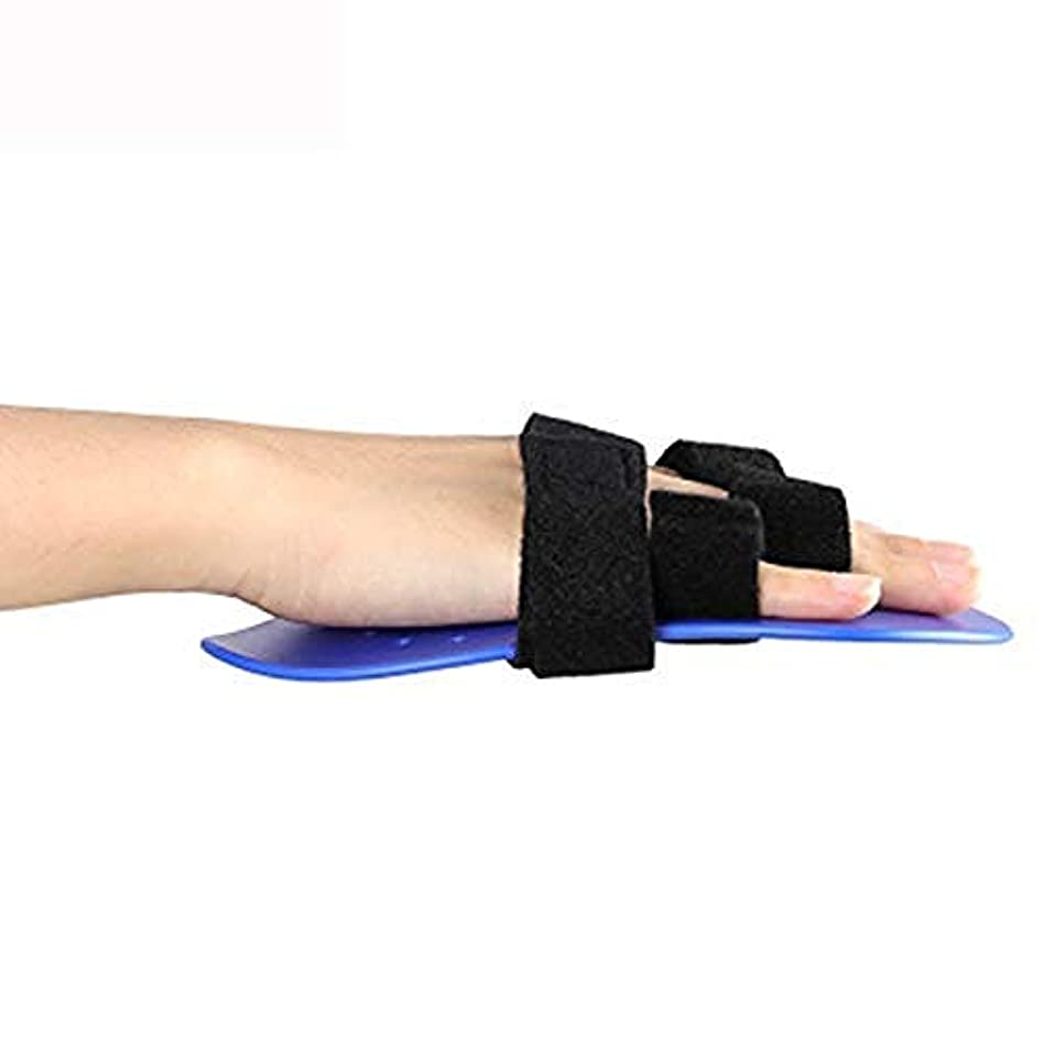 カバー邪魔するヒュームトリガー指副木、手首支持装置指セパレーター装具手根管関節痛緩和装具,Left Hand-S