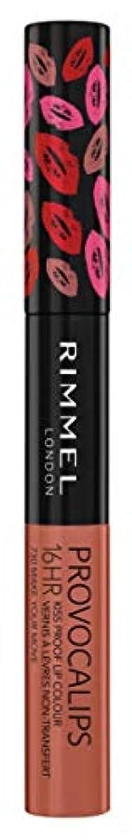 リズミカルな弱めるライムRIMMEL LONDON Provocalips 16Hr Kissproof Lip Colour - Make Your Move (並行輸入品)