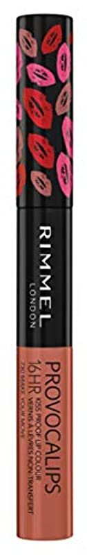 潜水艦フォージ受信RIMMEL LONDON Provocalips 16Hr Kissproof Lip Colour - Make Your Move (並行輸入品)
