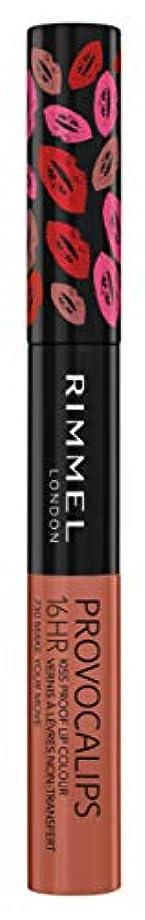 目の前のクラック給料RIMMEL LONDON Provocalips 16Hr Kissproof Lip Colour - Make Your Move (並行輸入品)