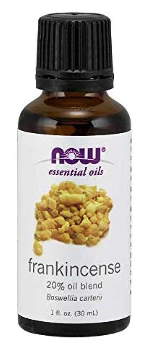 貫入ポンプ義務づける海外直送品Now Foods Frankincense Oil, 20% Oil Blend, 1 OZ (Pack of 2)