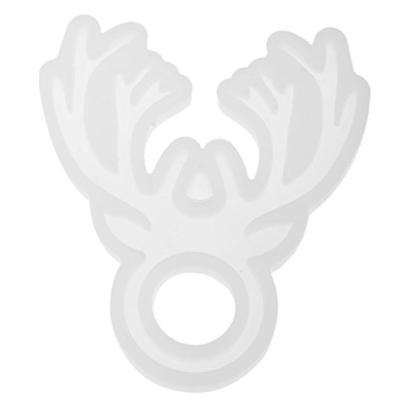 Prettyia リング金型 シリコーン金型 指輪 製造樹脂 手工芸品作り DIYジュエリー道具 アクセサリー 全6種選べ - 工芸品1#