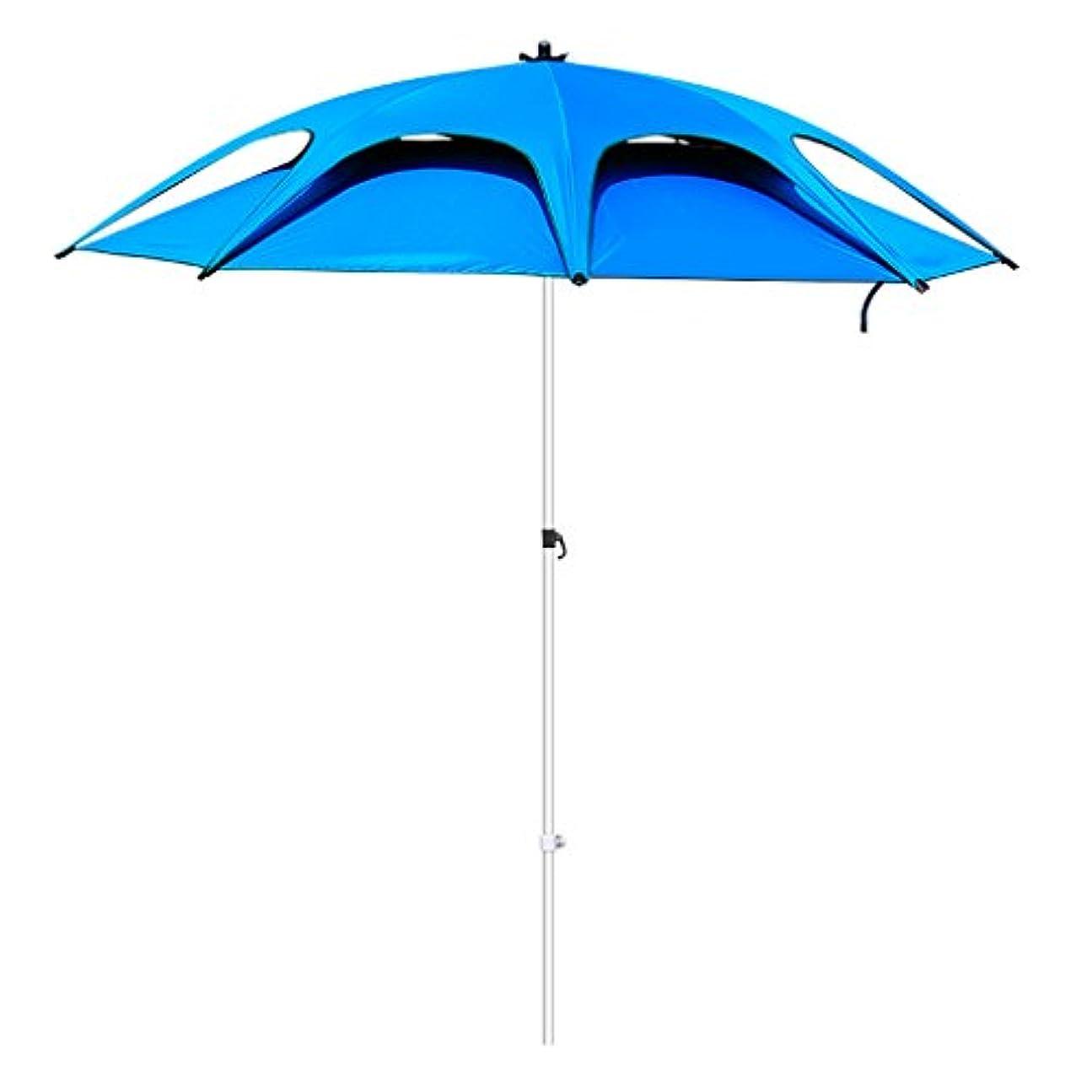 エレメンタル容赦ない手つかずの屋外アンブレラ|釣り傘|傘|釣り傘| 2.4メートルギャップのダブルベンドアウトドアフィッシング傘|サンUmbrellas |防水釣り用品|アウトドアフィッシングギア|通気性のダブル傘