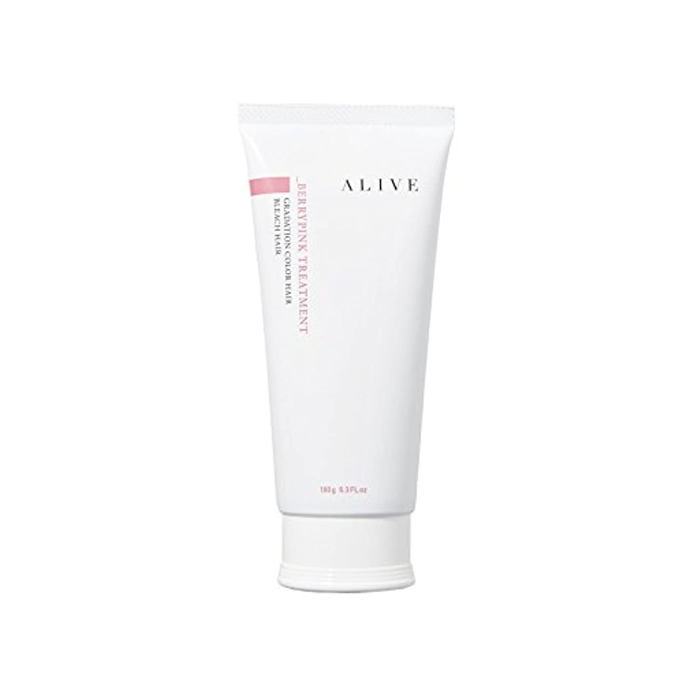 ALIVE COLOR TREATMENT VERY PINK アライブ カラートリートメント ベリーピンク 弱酸性 低刺激 微香性 180g