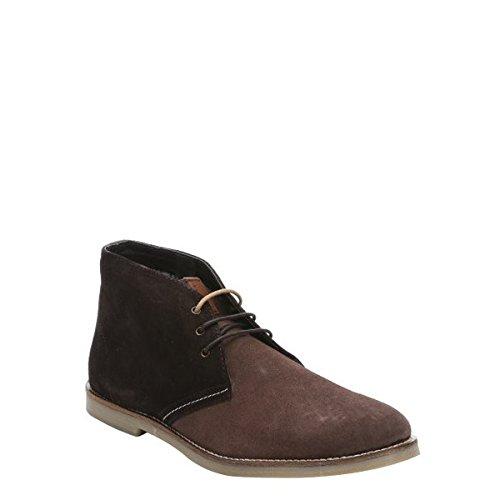 (ベンシャーマン) Ben Sherman メンズ シューズ・靴 ブーツ brown suede 'Conrad' boots 並行輸入品