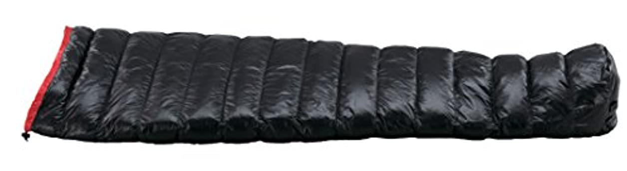 インタネットを見るコンデンサー会話イスカ(ISUKA) 寝袋 エア130X ブラック [最低使用温度8度]