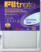 3M 2000dc-6Filtrete Ultra Allergen Reductionフィルタ16by 20by 1インチ, 6パック(Pack of 6)