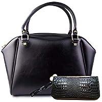 NAD'S Large Business Handbags for Women Top Handle Bag Crossbody Bag Shoulder Bag Female Bag Designer Include Wallet 2pcs Set