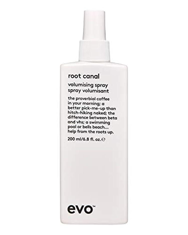 ワンダーフォルダ店員Evo Root Canal Volumising Spray (For All Hair Types, Especially Fine Hair) 200ml/6.8oz