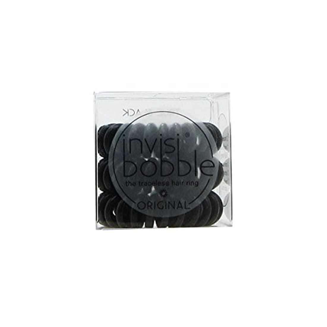 Invisibobble Original Hair Ring True Black [並行輸入品]