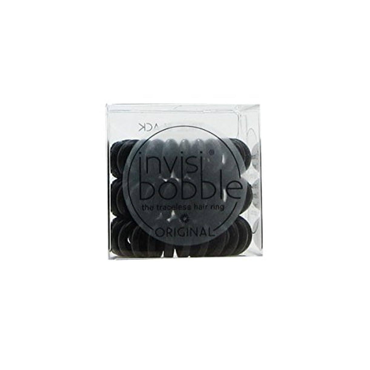 実施する成熟した宝Invisibobble Original Hair Ring True Black [並行輸入品]