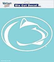 "Penn State Nittany LionsダイカットDecal – 8 "" x8 ""ホワイト"