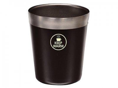 ステンレス真空断熱構造でコンビニコーヒーのおいしい温度をキープ! パール金属 真空 コンビニ カップ (レギュラー/ブラウン)