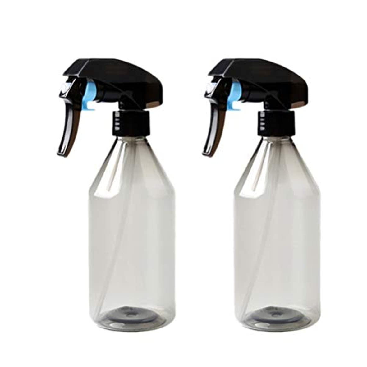 微視的と遊ぶ死んでいるUPKOCH 2ピースプラスチックサロンヘアボトル理髪水スプレー空噴霧器花植物水噴霧器水ディスペンサー詰め替えボトル300 ml
