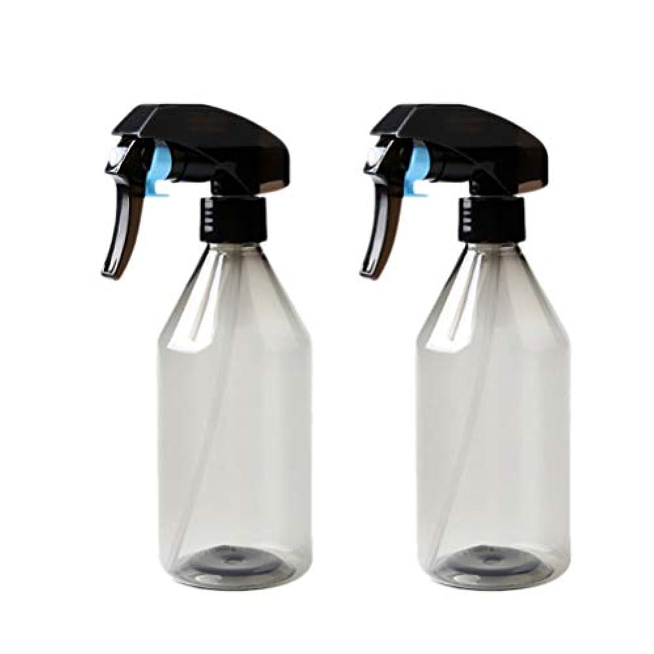 ネックレスチャート脊椎UPKOCH 2ピースプラスチックサロンヘアボトル理髪水スプレー空噴霧器花植物水噴霧器水ディスペンサー詰め替えボトル300 ml