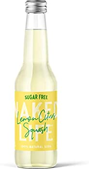 Naked Life Naturally Sugar Free Soda 12x330ml (Lemon Citrus Squash)