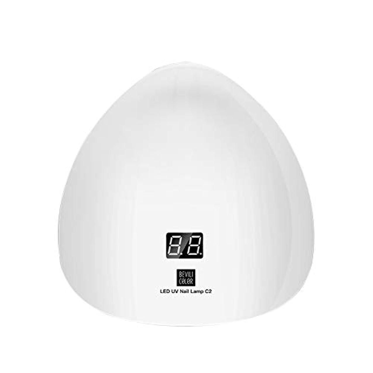 理由困難一元化するLITI LEDネイルドライヤー UVライト 45W ハイパワー 15LED 高速硬化 自動センサー UVとLEDダブルライト