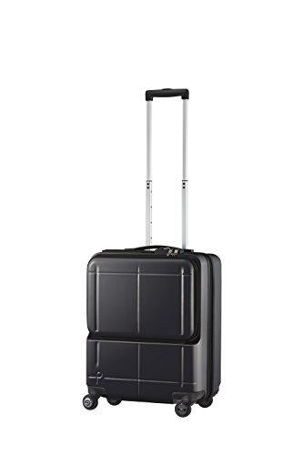 [プロテカ] スーツケース 日本製 マックスパス スマート 3年保証 スマ-トフォンバッテリー搭載 機内持込可 保証付 39L 46cm 3.5kg 02771 01 ブラック