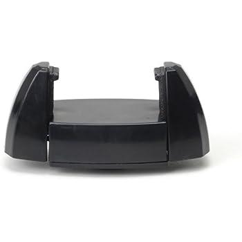 【スマートフォン用ホルダー】小型軽量 iPhone スマホを挟んで三脚に取り付けられる 伸縮式 ホルダー FT-H ブラック