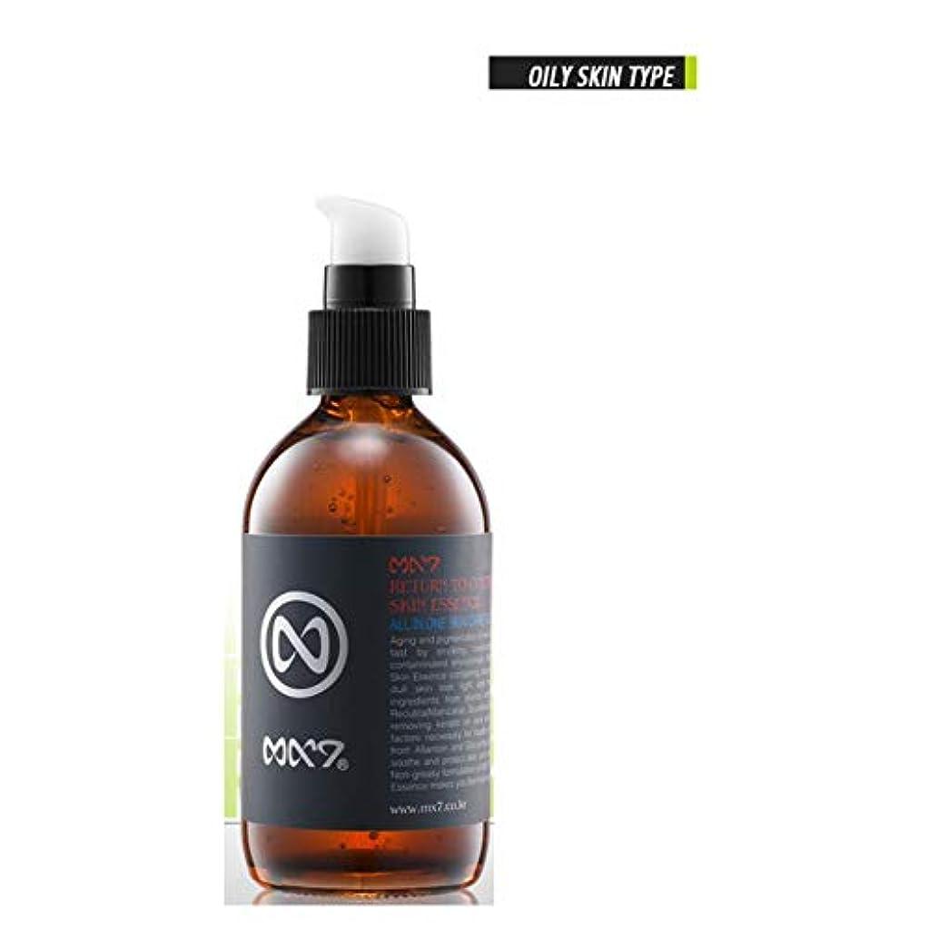 どこ明らかにする灌漑(MX7)(オイリー/コンビネーション肌用)美白、毛穴皮脂管理オールインワン男性化粧品スキンエッセンス105ml(Oily Skin Type)[海外配送品] [並行輸入品]