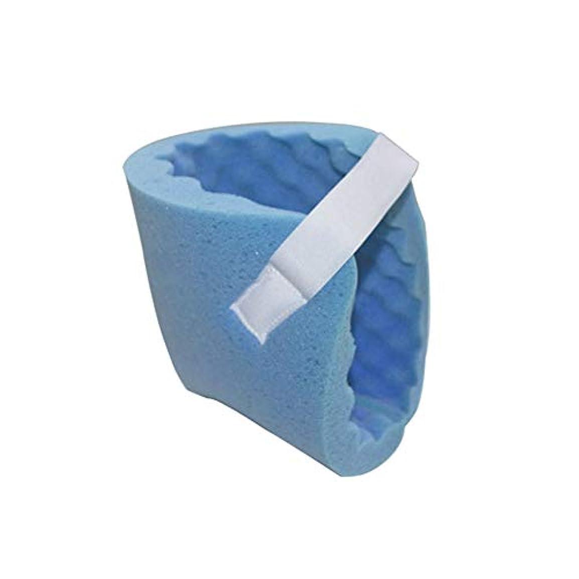 信仰バーマド出血かかと抗Press瘡保護パッド、反De瘡通気性減圧波型かかとパッド、ケア用品