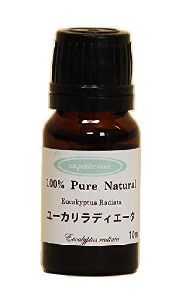 褐色慣れる引用ユーカリラディエータ 10ml 100%天然アロマエッセンシャルオイル(精油)
