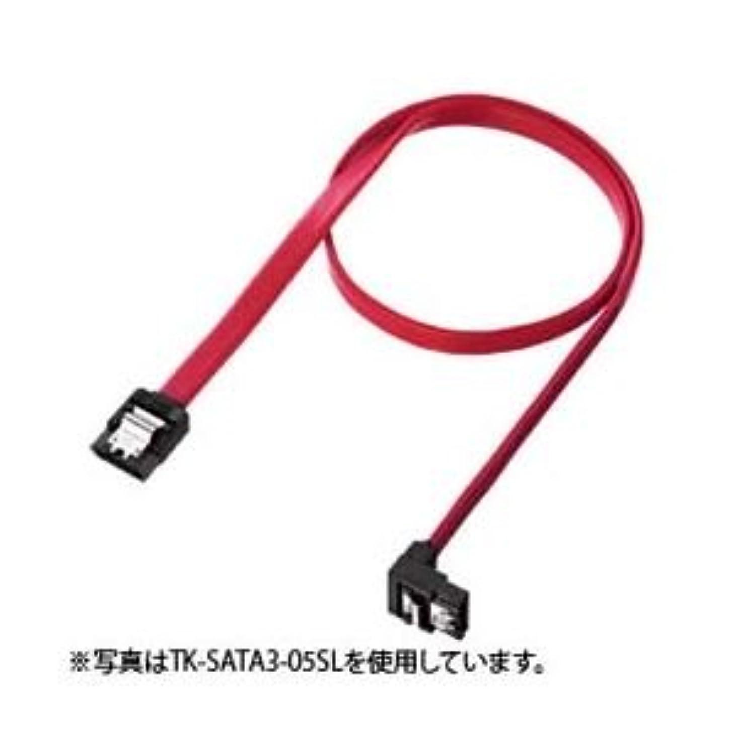 収益窒息させる逆に(まとめ)サンワサプライ 下L型シリアルATA3ケーブル TK-SATA3-03SL【×3セット】 ds-1616954