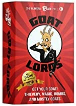 Goat Lords -  Game for Family, Adults, and Kids. Hilarious, Addictive, and Competitive Fun for Game Nights!