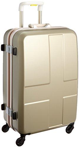 [イノベーター] innovator スーツケース 60L 4kg 2年保証 トートバッグ付 INV58 CHAMPAGNE GOLD (シャンパンゴールド)