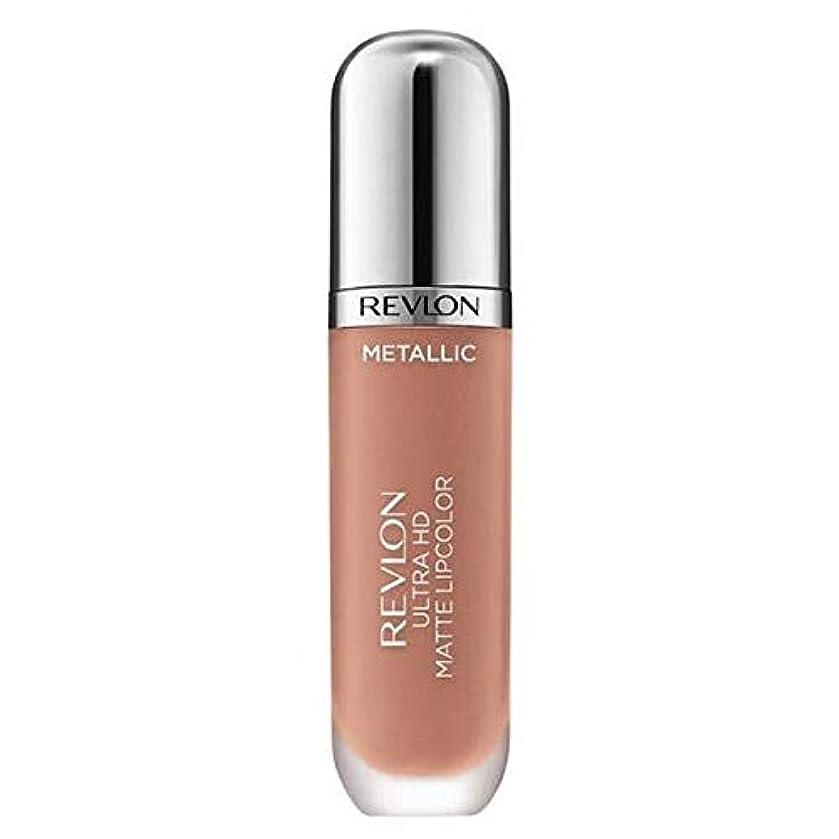 独裁燃料自然公園[Revlon ] レブロンウルトラHdマットメタリックリップグロー - Revlon Ultra HD Matte Metallic Lip Glow [並行輸入品]